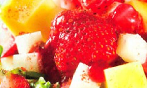 Ensalada de frambuesa