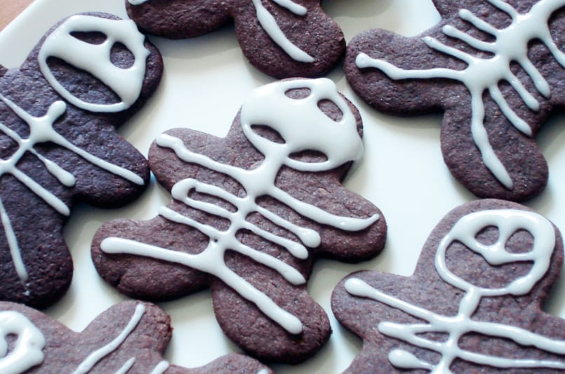 Receta de Halloween: Galletas monstruosas de jengibre