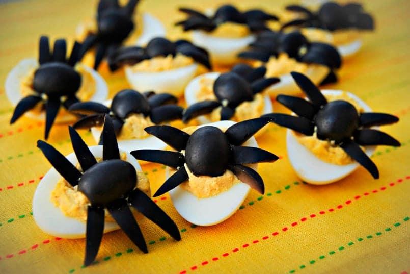 Receta de Halloween: Aperitivo de Brujas