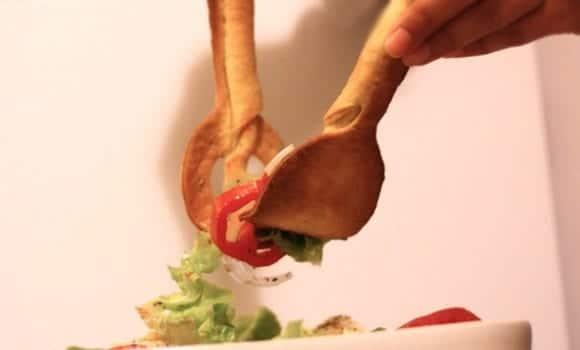 Cómo hacer cubiertos comestibles