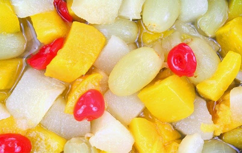 Fruta escarchada, una golosina de pura fruta