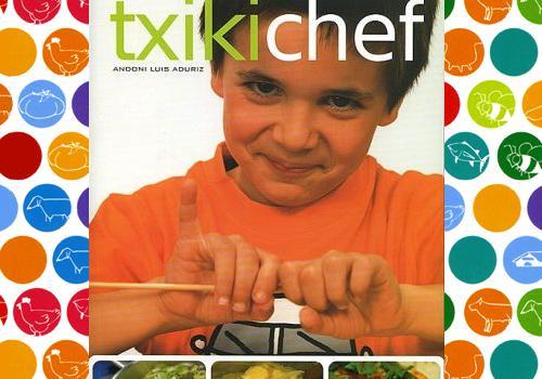 Txikichef, un libro para pequeños chefs