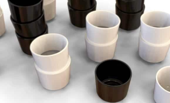 Stacked Cups, haz vasos tan largos como quieras