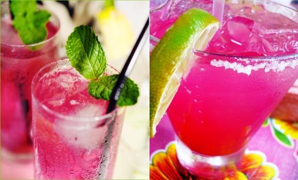 Cóctel rosa sin alcohol: los niños entran el año con glamour