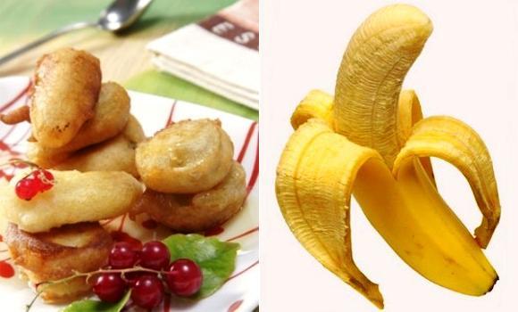 Buñuelos de plátano, ¿sólo como postre?