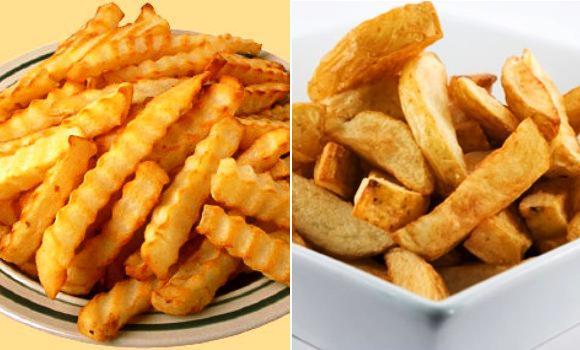 Resultado de imagen de patatas fritas