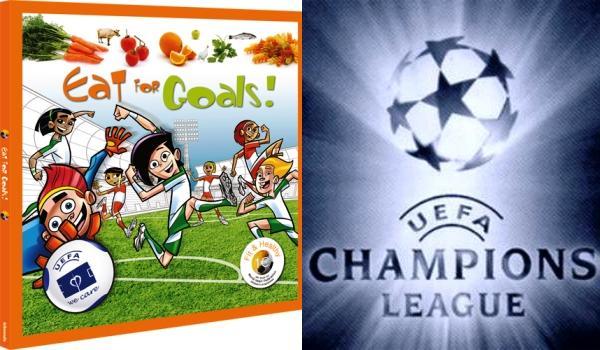 El libro de cocina de la UEFA, ¿qué comen los futbolistas?