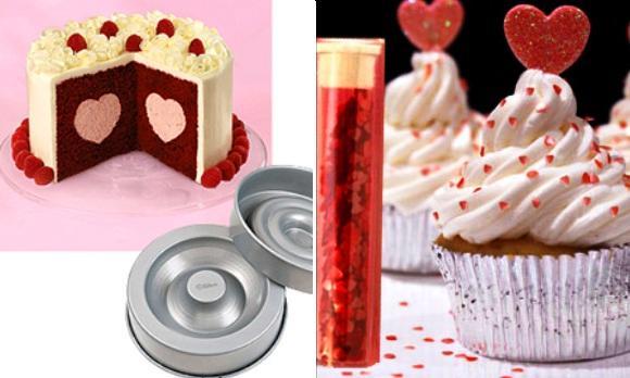 Endulza San Valentín con estos divertidos detalles para repostería
