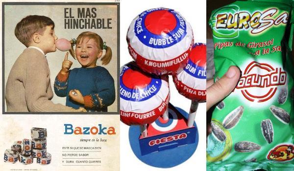 Las golosinas de toda la vida, recuerdos de la infancia (I)