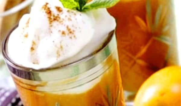 Batido de nísperos con nata: sabor, color y olor…