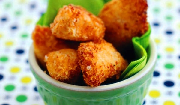 Nuggets de pollo, caseros 100%