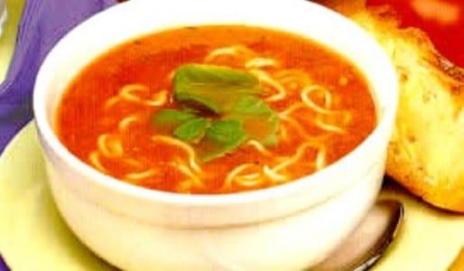 Sopa De Pollo Y Tomate Completísima Recetín