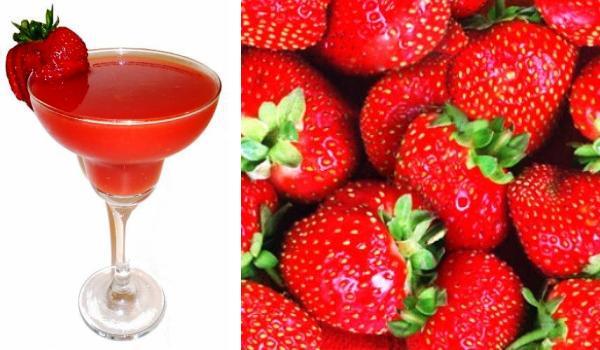 Cocktail de fresa para niños, fiesta saludable