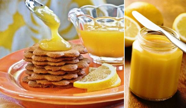Lemon curd, como untable o como relleno