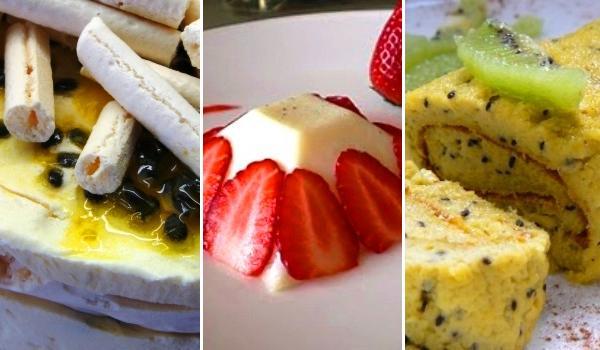 Postres con fruta, sanos y con vitaminas
