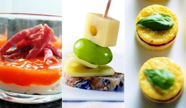 Aperitivos de queso originales