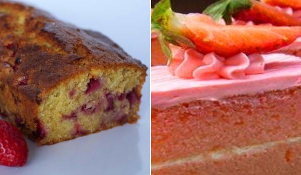 Bizcocho de fresa y yogur, tartas más ricas