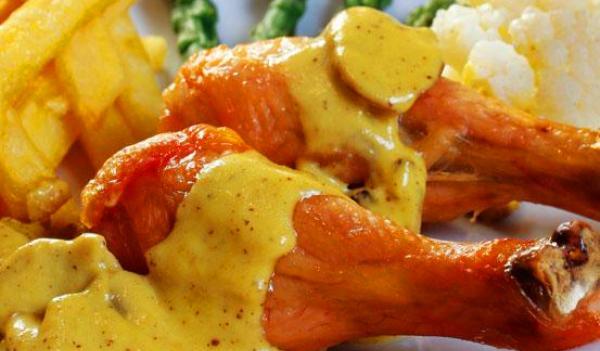 Pollo a la mostaza, sabrosísimo
