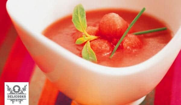 Gazpacho de sandía, un nuevo refresco de verano