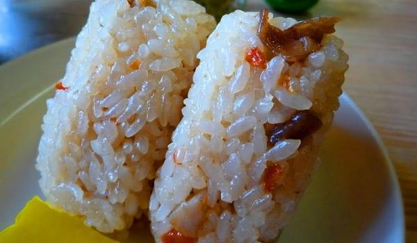 Onigiri, bolitas de arroz
