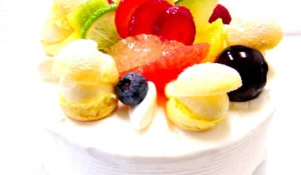 Macedonia con helado, ¡peripuesta!