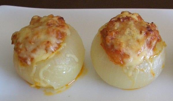 Cebollas rellenas