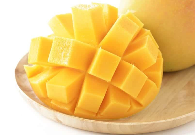 Salsa de mango, con carnes y pescados