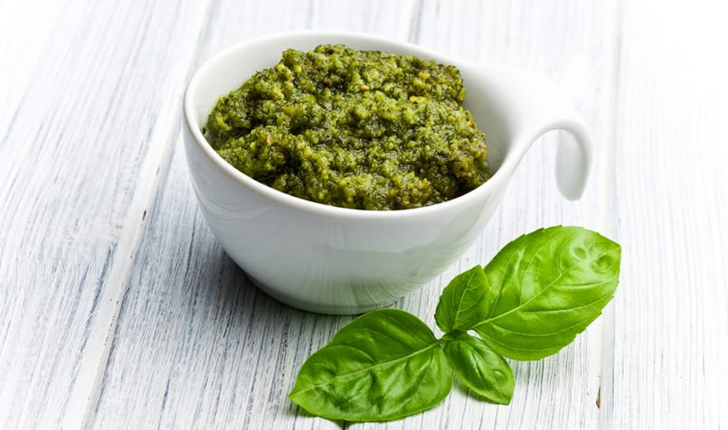 Pesto genovés, la receta