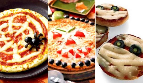 Pizzas para halloween de motivos terror ficos recet n for Decoracion pizzeria