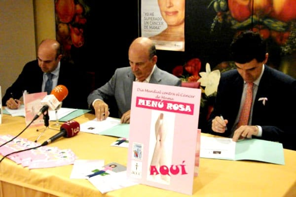 """Aquí Menú Rosa"", Sevilla contra el cáncer de mama"