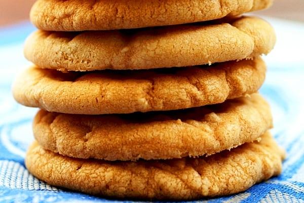 Butter cookies: galletitas de mantequilla y miel con especias