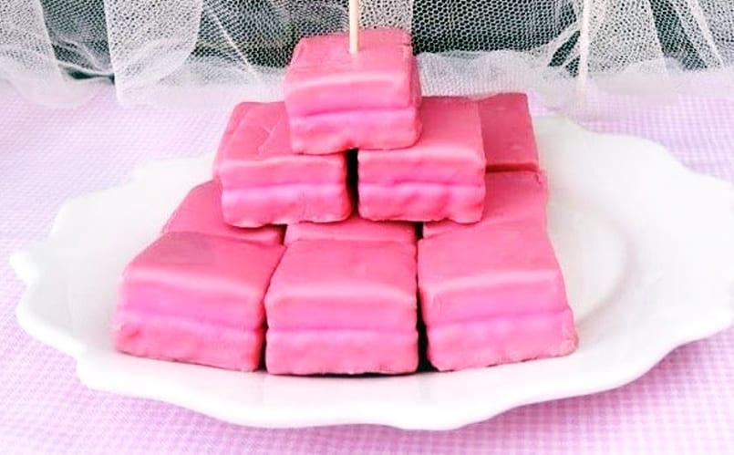 Pastelitos pantera rosa, un dulce colorido