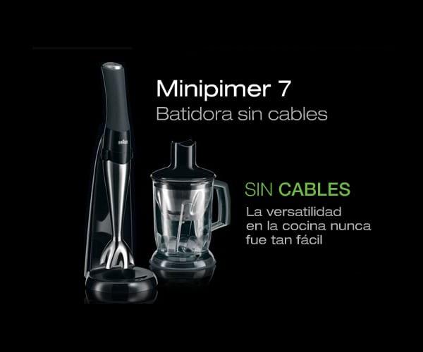 Probando la nueva Braun Minipimer 7 sin cables