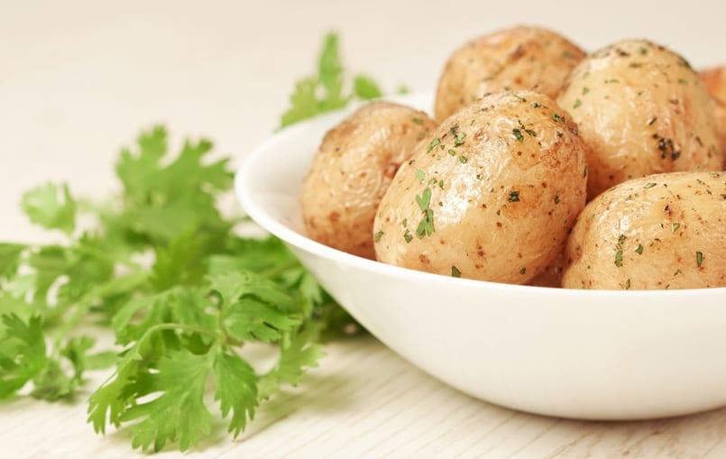Patatas confitadas, sabrosa guarnición