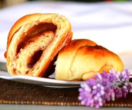 Croissants integrales al aceite de oliva