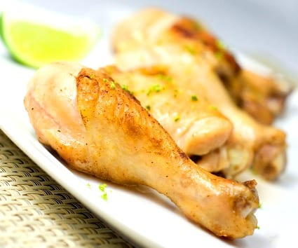 Pollo en adobo de lima