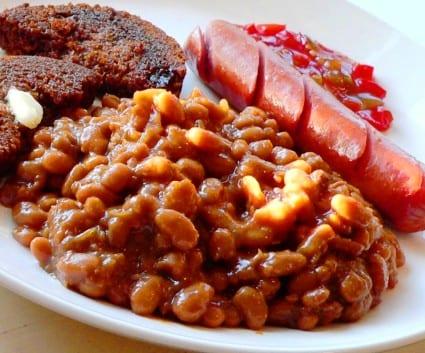 Baked beans, alubias para desayunar