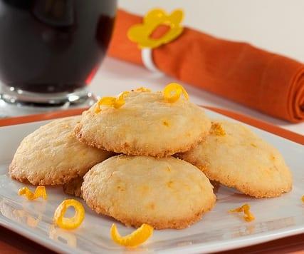 Galletas de mandarina recet n - Postre con mandarinas ...