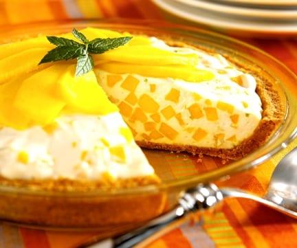 Tarta de queso y mango, ¿o la haces con otra fruta?