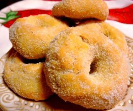 Roscos de anís, al horno y con sólo tres ingredientes
