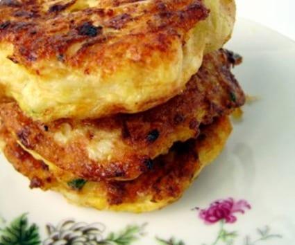 Tortillitas de coliflor y otras verduras