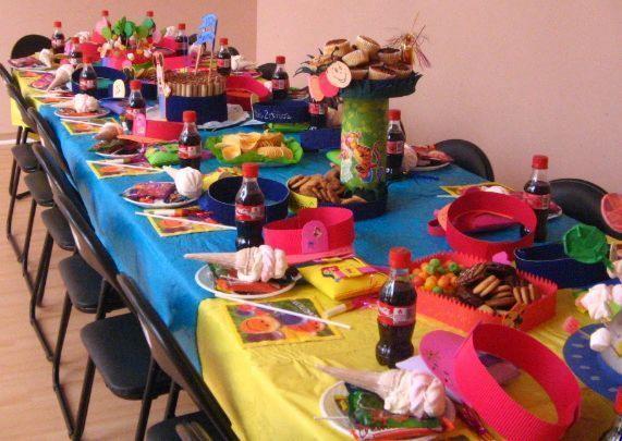 Fiestas infantiles diversi n veraniega recet n for Decoracion para pared para cumpleanos