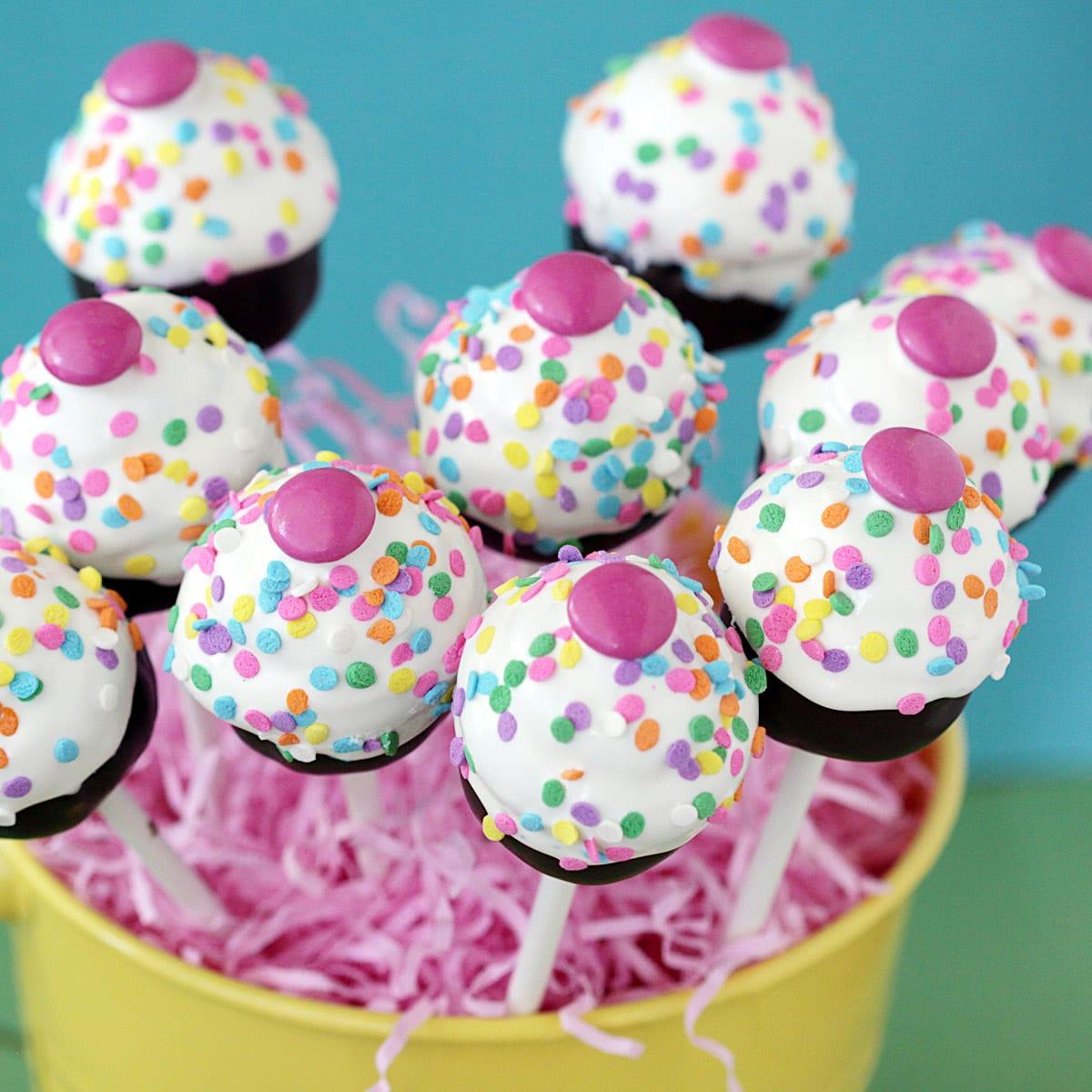 Cake Pops O Chupachups Con Coraz 243 N De Oreo 191 Con Qu 233 Los