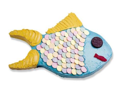 Tarta de pez, elige los colores que quieras