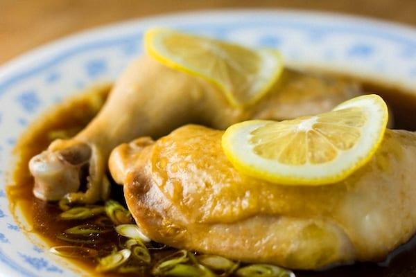 Pollo en salsa de lim n recet n - Salsa de pollo al limon ...