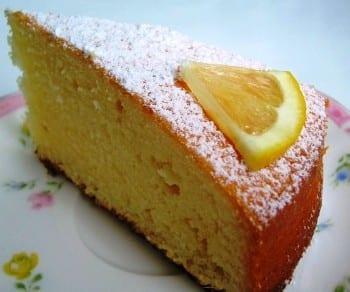 Madeira Cake o bizcocho de limón inglés