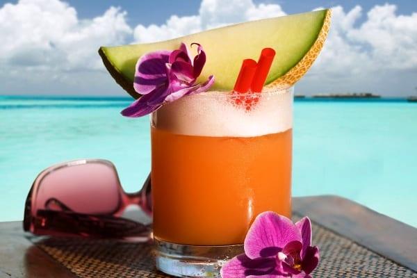 Cocktail Margarita de melón, más dulce que el clásico