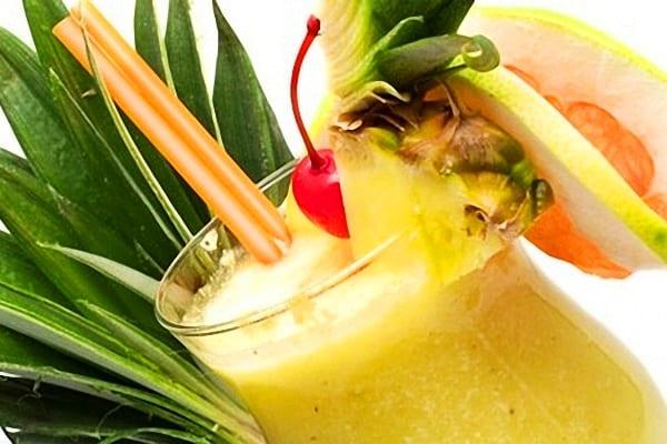 Piña colada, versión cocktail