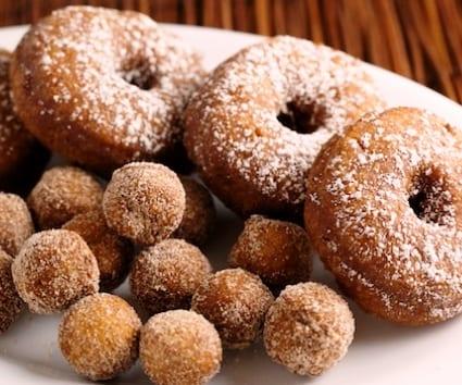 Donuts (y sus agujeros) de calabaza