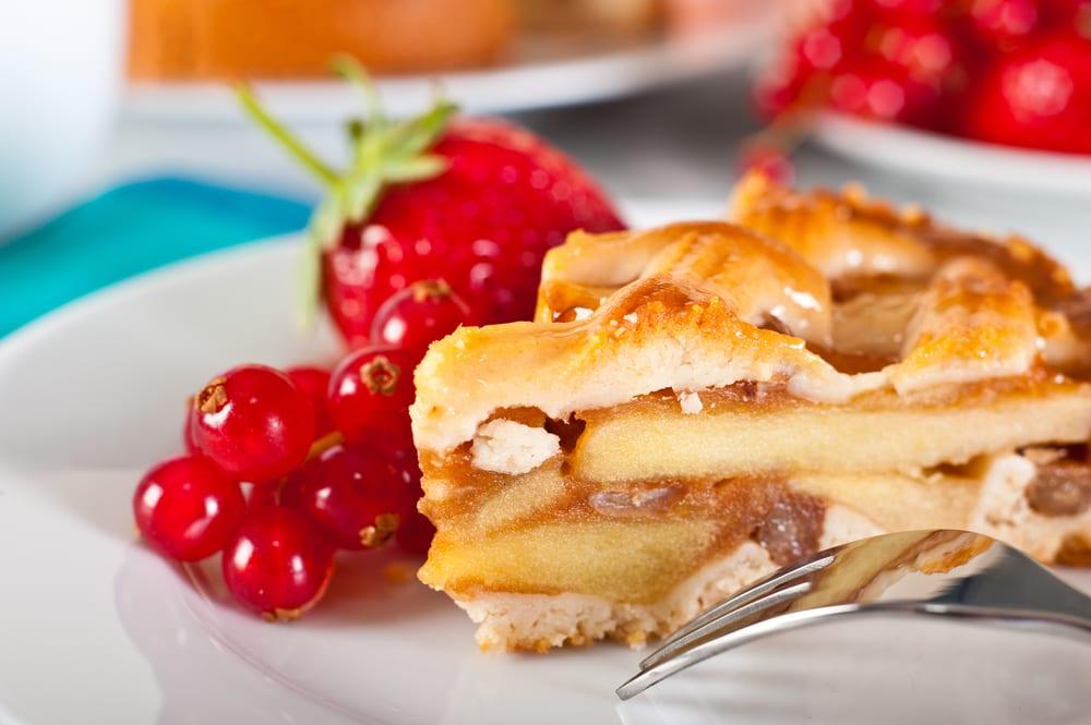 Bizcocho de manzana, nueces y especias: muy otoñal